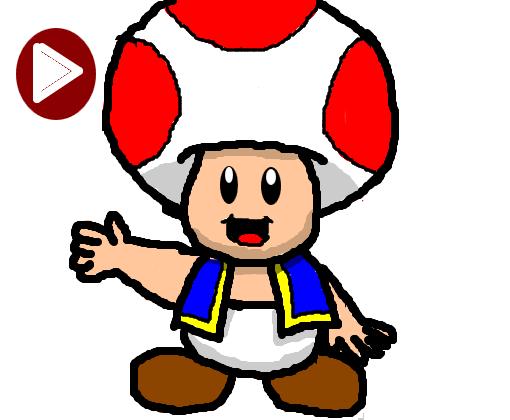 Como Desenhar O Toad Passo A Passo Desenho De Sei