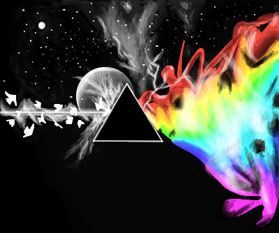 Dark side of the moon by yuffie desenho de sevenfold for Dark side of the moon mural