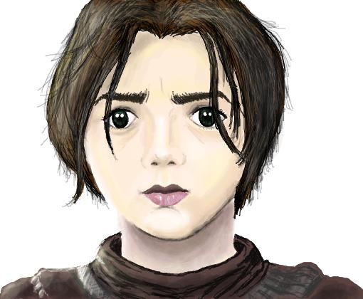 Arya Stark - Desenho de sgsfabiano - Gartic