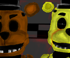 Freddy & Golden Freddy
