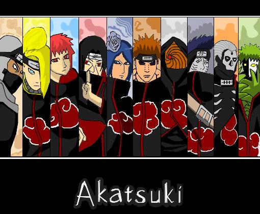 Akatsuki - Desenho de sidyn - Gartic