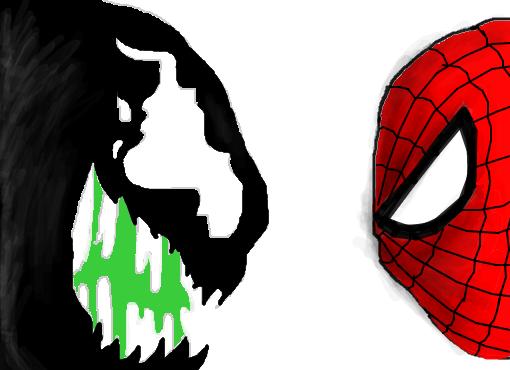 Venom Vs Homem Aranha Desenho De Simbambauer Gartic