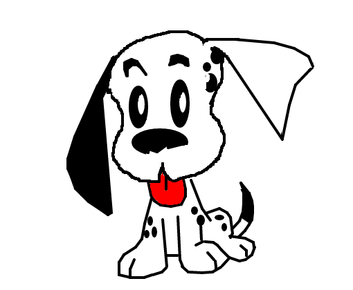 cachorro desenho de simple15 gartic