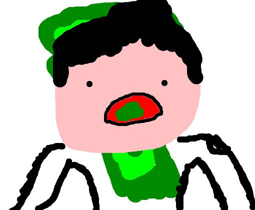 muleke comendo brócolis desenho de sirboli gartic