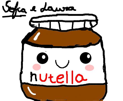 nutella fofa desenho de soso100 gartic
