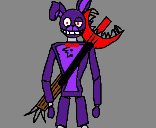 Bonnie (Para Bonnie124 ou Bonnie_The_Bunny) - Desenho de ...