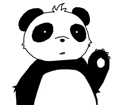 Excepcional Sr. Panda - Desenho de srpanda - Gartic LC18