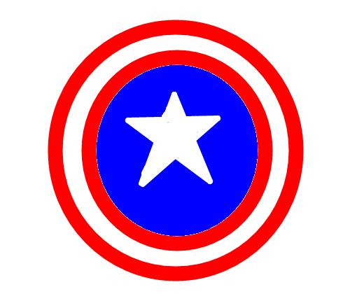 Escudo Capitao America Desenho De Super Garota Gartic