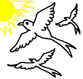 Andorinha Desenho De Sweden Gartic