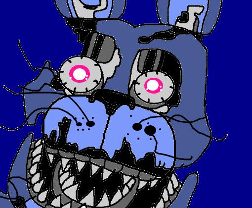Nightmare Bonnie Desenho De Tales3004 Gartic