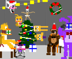 christmas at Freddy's