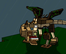 Wooden Dragon (Minecraft)