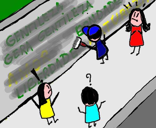 Gentileza Desenho De Tatinha 2702 Gartic