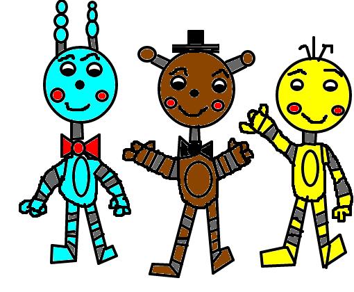 Five Nights At Freddy S 2 Desenho De Tekafrozen Gartic