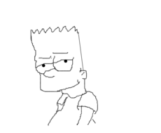 Bart Os simpsons