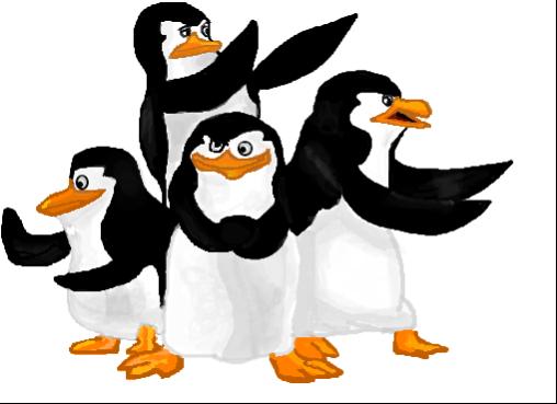 Pinguim Dos Desenhos Animados Forma Silicone Pat Luz De
