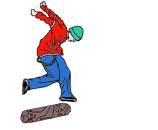 i love skate desenho de the angel gartic