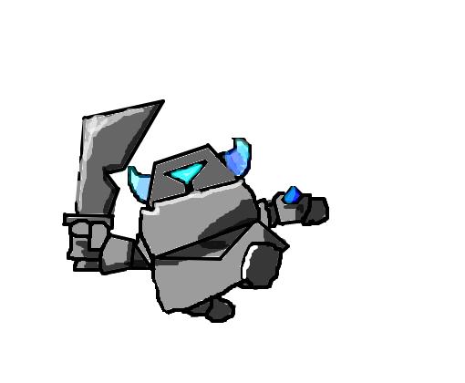Mini Pekka Clash Royale Desenho De Thehomeland Gartic