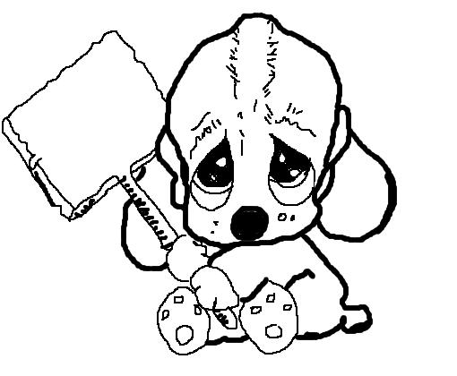 Cachorrinho Triste Desenho De Themonstertrue Gartic