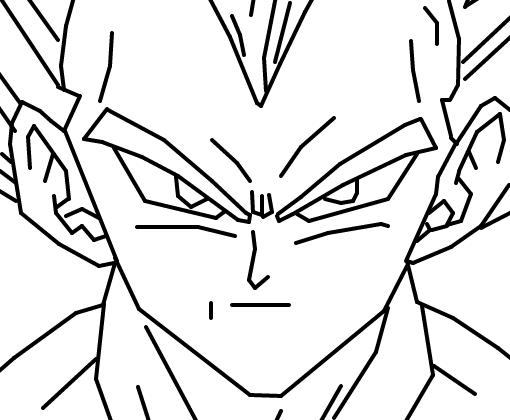 Como Desenhar O Vegeta De Dragon Ball Z Personagem: Os 13