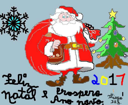 Feliz Natal E Prospero Ano Novo Desenho De Thiago000192 Gartic