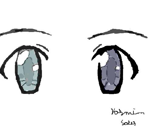 Olho Anime Desenho De Tiah Do Meliodas Gartic