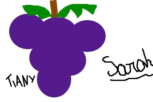 uva desenho de tiany gartic