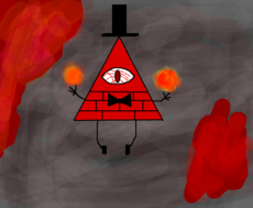 Bill Cipher reverso