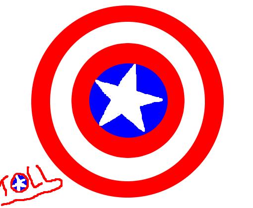 Escudo Do Capitao America Desenho De Tolldynho Gartic