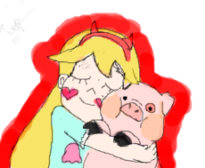 STAR WITH WADDLES