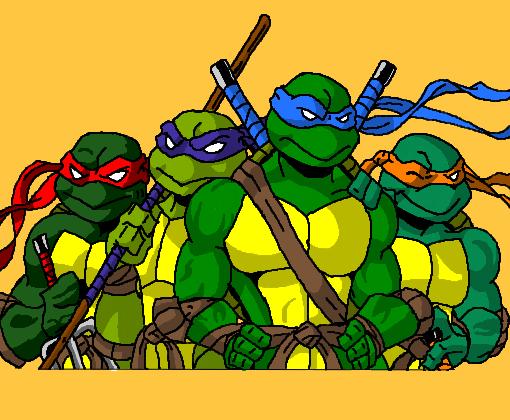 As Tartarugas Ninja Desenho De Trovo Gartic