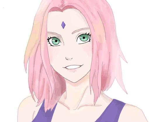 Sakura Haruno - Desenho de tsuuchan - Gartic