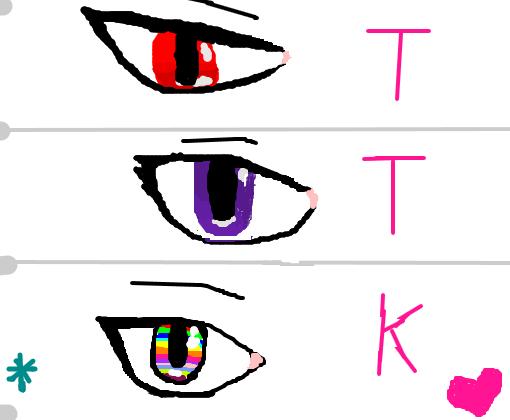 Olhos Anime Desenho De Ttkgamers2 Gartic