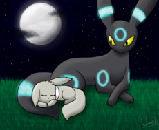 The Moonlight P/ Garota_Umbreon_