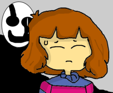 Frisk and MS Gaster !