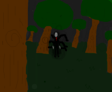 Slenderman, don't look back