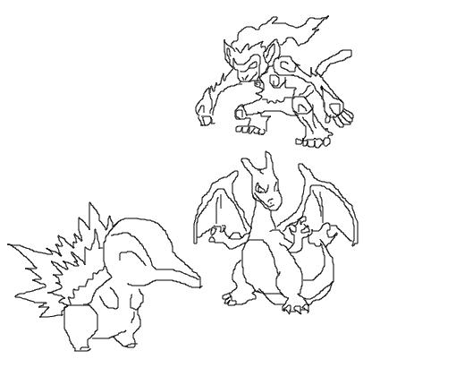 pokemons de fogo desenho de vampire shanks gartic