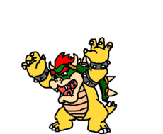 Bowser louco