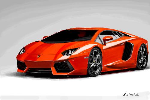 Lamborghini Aventador Desenho De Victor2292 Gartic