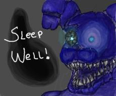 Nightmare Shadow Bonnie