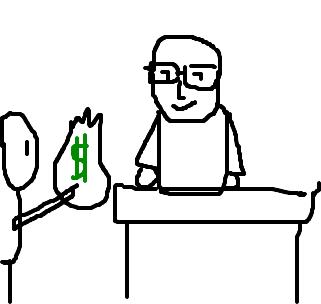 Resultado de imagem para banqueiro desenho