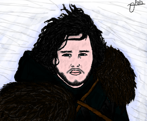 Jon Snow Desenho De Vitor Paladino Gartic