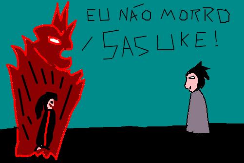 Sasuke Vs Itachi Susanoo Desenho De Vitoralverrubro Gartic