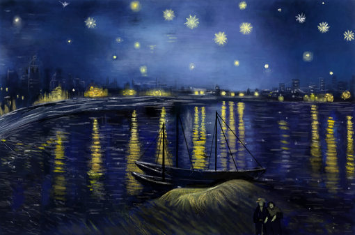 Starry Night Over the Rhône
