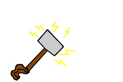 Martelo Do Thor 3 Desenho De Wendigo Gartic