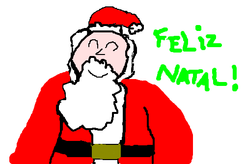 Merry Christmas - Papai Noel.