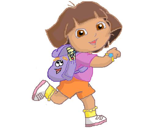 Dora Aventureira Desenho De Xablauzuera Gartic