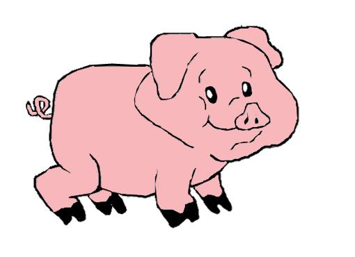 porco desenho de xmaahx gartic