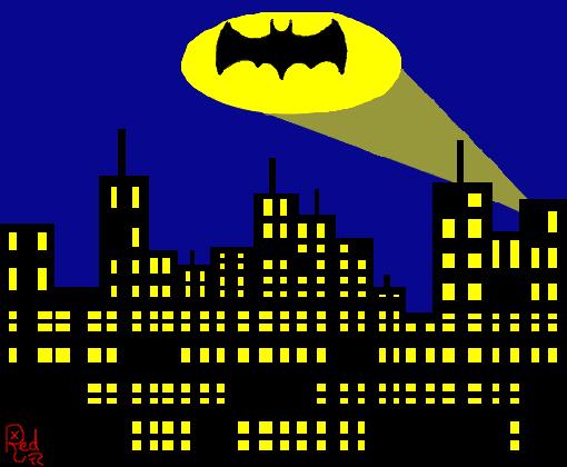 Gotham City Desenho De Xxredbulxx Gartic