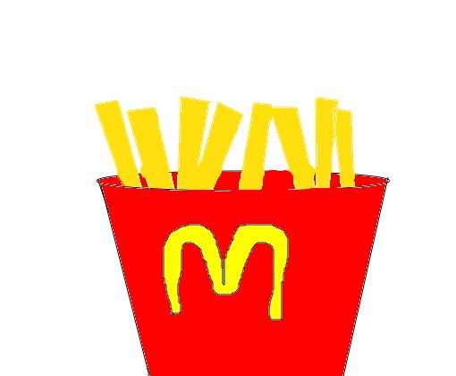 Batata Frita Da Mc Donalds Desenho De Yodaimehokage Gartic